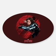 The Winter Soldier Red Stamp - Capt Decal