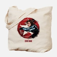 The Winter Soldier Red Stamp - Captain Am Tote Bag