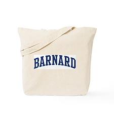 BARNARD design (blue) Tote Bag