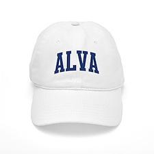 ALVA design (blue) Baseball Baseball Cap
