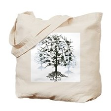 Guitars Tree Roots Tote Bag