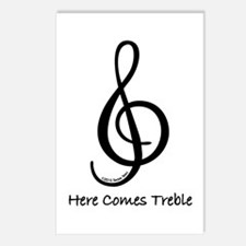 Here Comes Treble Postcards (Package of 8)