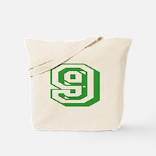 9 Green Birthday Tote Bag