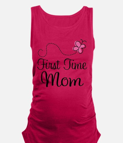 Cute First mother%27s day Maternity Tank Top