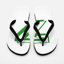 7 Green Birthday Flip Flops