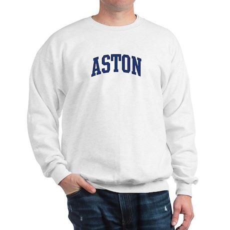 ASTON design (blue) Sweatshirt