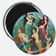 Pretty Mermaid Princesses Magnets