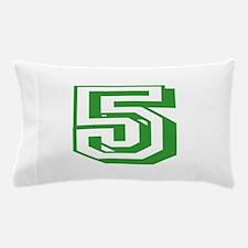 5 Green Birthday Pillow Case