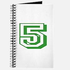 5 Green Birthday Journal
