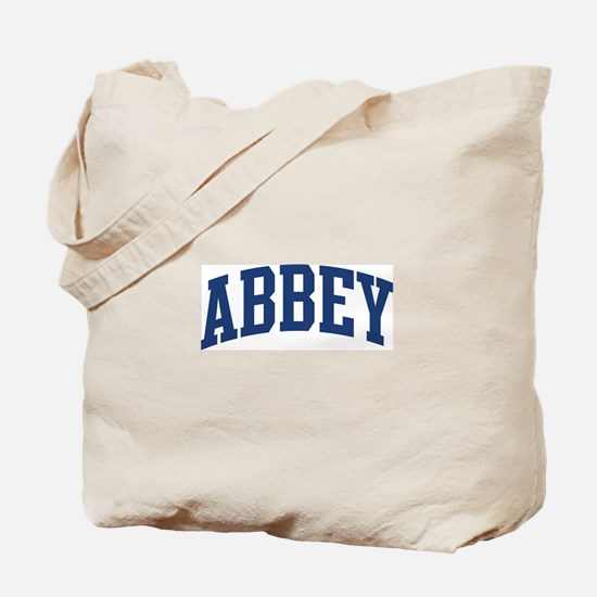 ABBEY design (blue) Tote Bag