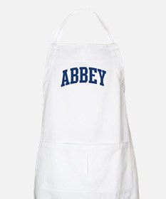 ABBEY design (blue) BBQ Apron