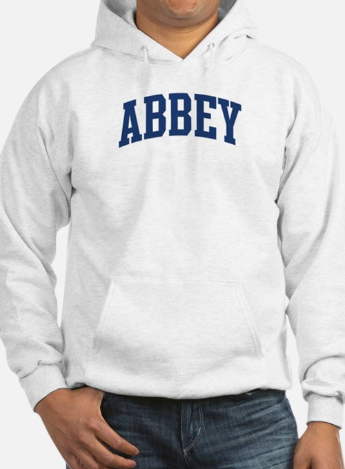 ABBEY design (blue) Hoodie Sweatshirt