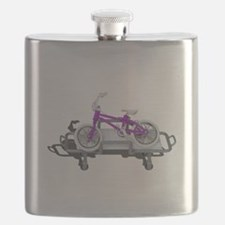 Bicycle Laying on Gurney Flask