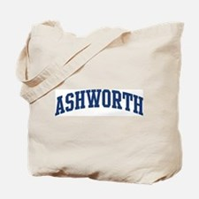 ASHWORTH design (blue) Tote Bag