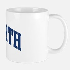 ASHWORTH design (blue) Mug