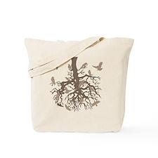 Tree Ravens Bird Tote Bag