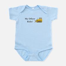 Bulldozer My Other Ride Infant Bodysuit