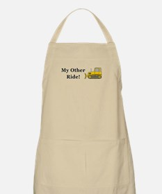 Bulldozer My Other Ride Apron