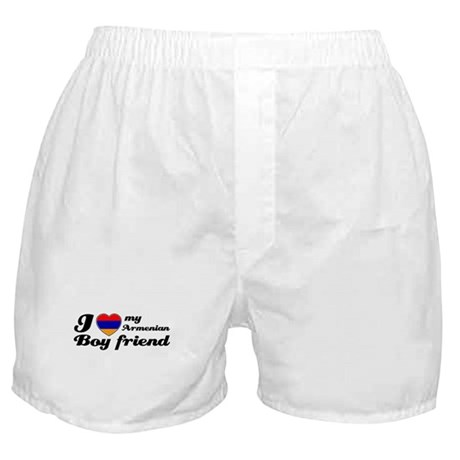I love my Armenian Boyfriend Boxer Shorts