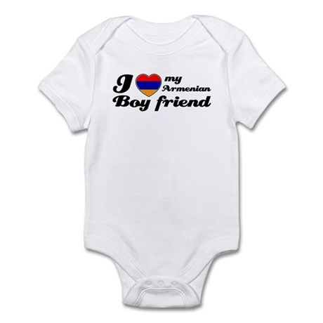 I love my Armenian Boyfriend Infant Bodysuit