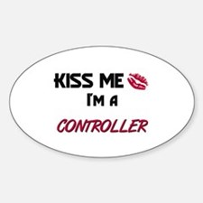 Kiss Me I'm a CONTROL ENGINEER Oval Decal