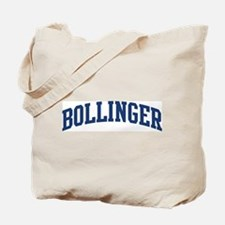 BOLLINGER design (blue) Tote Bag