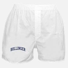 BOLLINGER design (blue) Boxer Shorts