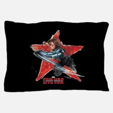 The Winter Soldier Red Star - Captain Pillow Case
