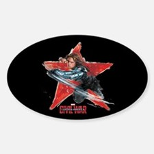 The Winter Soldier Red Star - Capta Decal