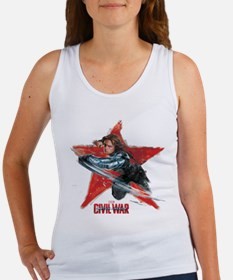 The Winter Soldier Red Star - Cap Women's Tank Top