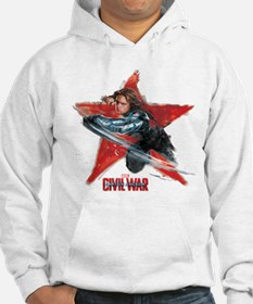 The Winter Soldier Red Star - Ca Hoodie