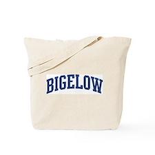 BIGELOW design (blue) Tote Bag