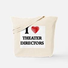 I love Theater Directors Tote Bag