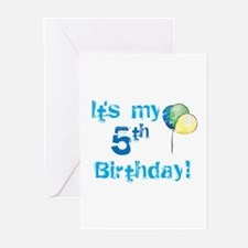 It's My 5th Birthday Greeting Cards (Pk of 10)