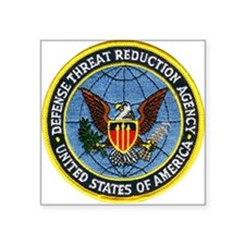 "Threat Reduction Agency Square Sticker 3"" x 3"""