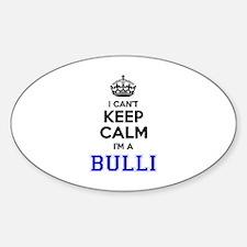 Bulli I cant keeep calm Decal