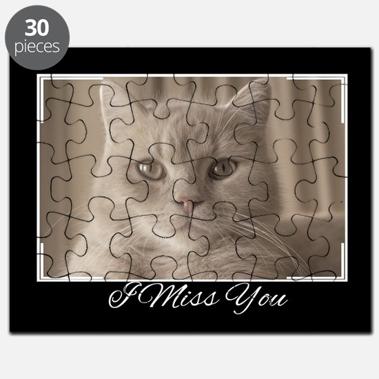 I Miss You Cat Puzzle