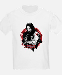 The Winter Soldier Red Circle - T-Shirt