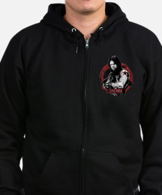The Winter Soldier Red Circle - Zip Hoodie