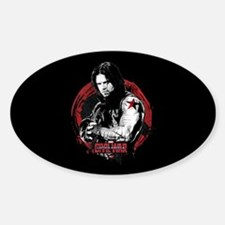 The Winter Soldier Red Circle - Cap Decal