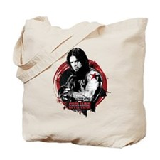 The Winter Soldier Red Circle - Captain A Tote Bag