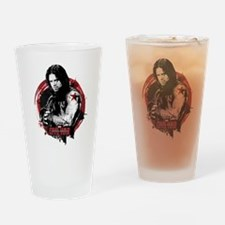 The Winter Soldier Red Circle - Cap Drinking Glass