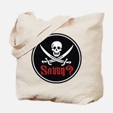 Savvy? Pirate Flag Tote Bag