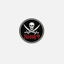 Savvy? Pirate Flag Mini Button