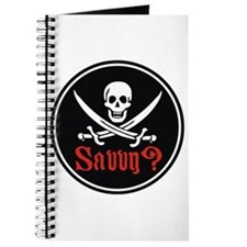 Savvy? Pirate Flag Journal