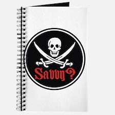 Savvy? Pirate Flag Journal