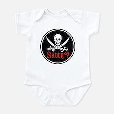 Savvy? Pirate Flag Infant Bodysuit