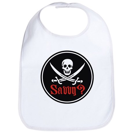 Savvy? Pirate Flag Bib