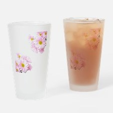 Daisies Drinking Glass
