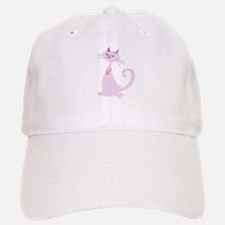 Sweet pretty Kitty Baseball Baseball Cap